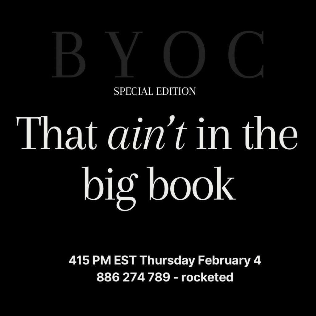 BYOC Feb 4th